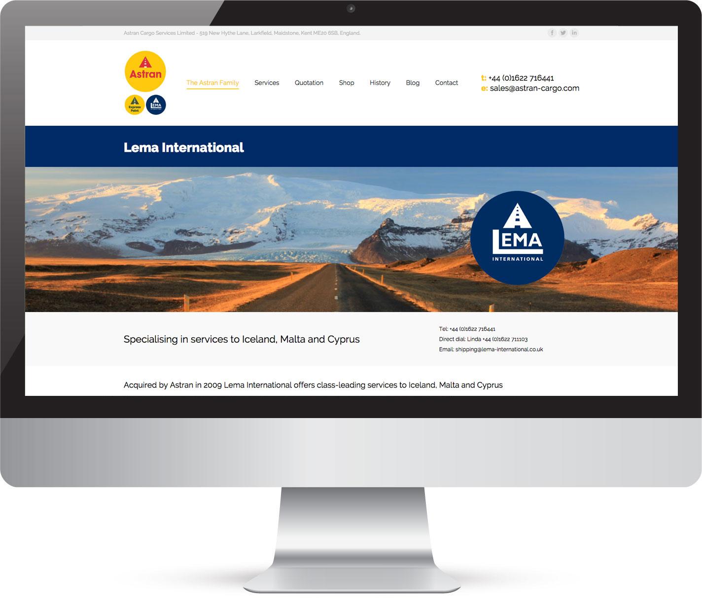 Creative website design in Kent