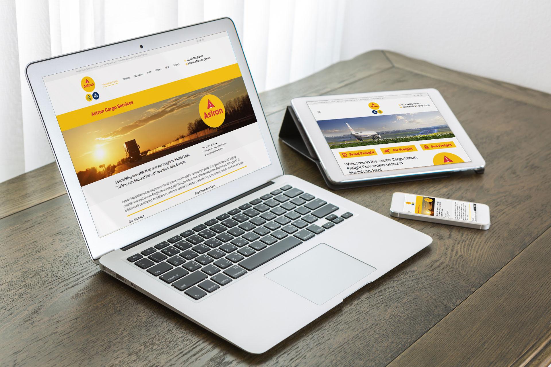 Interactive website design in Kent