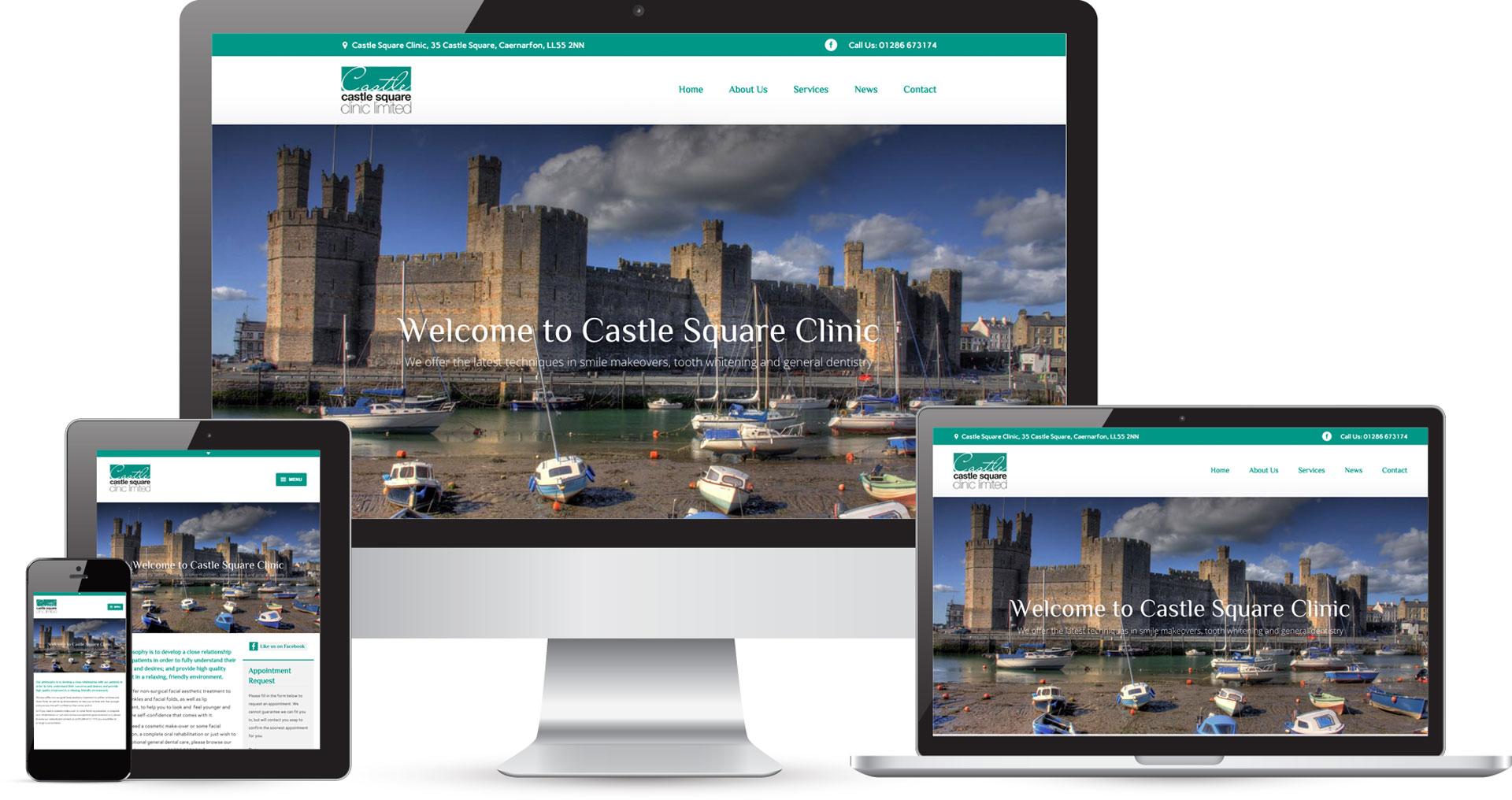 Responsive dentistry website design