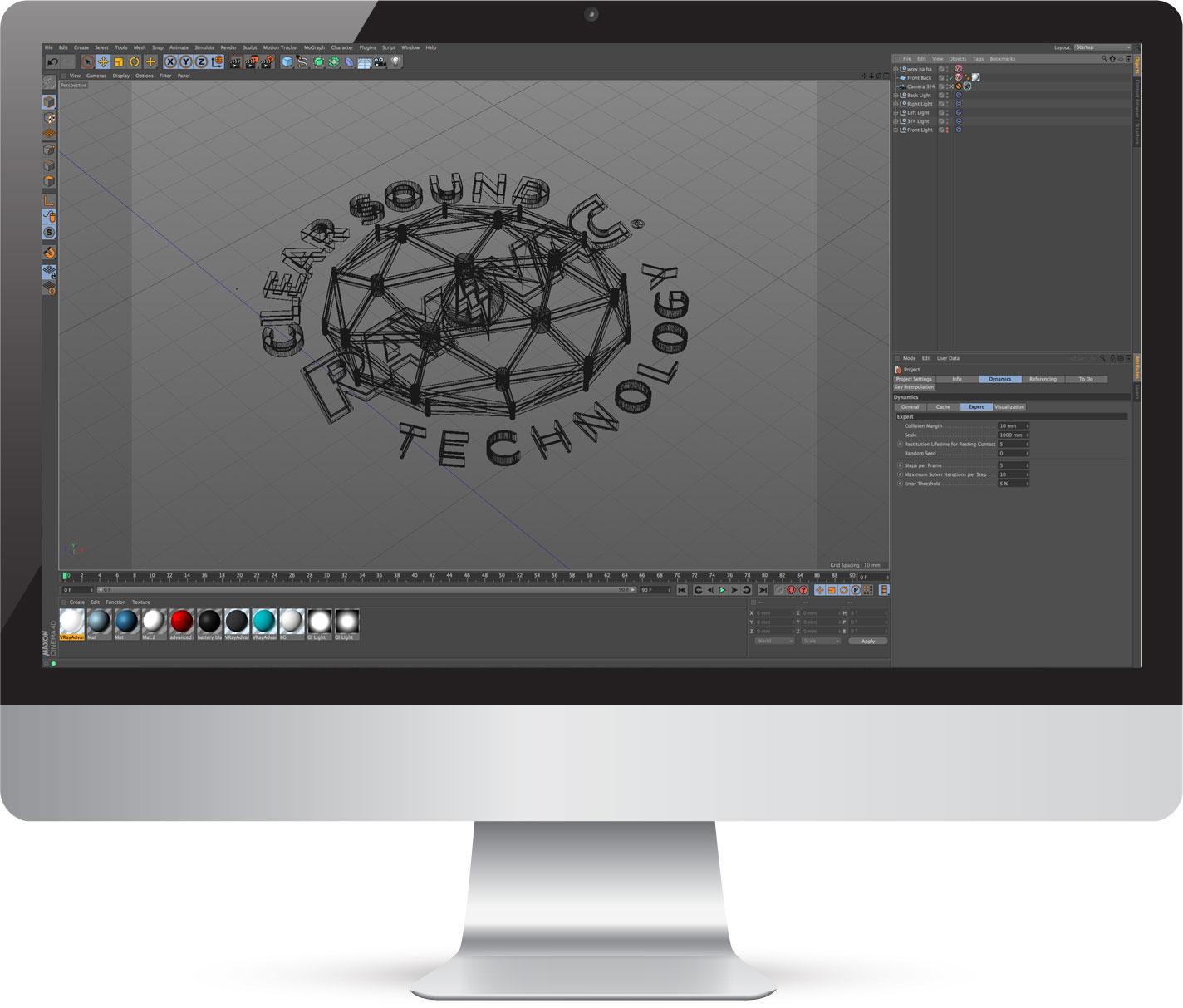 3D Logo design in Kent