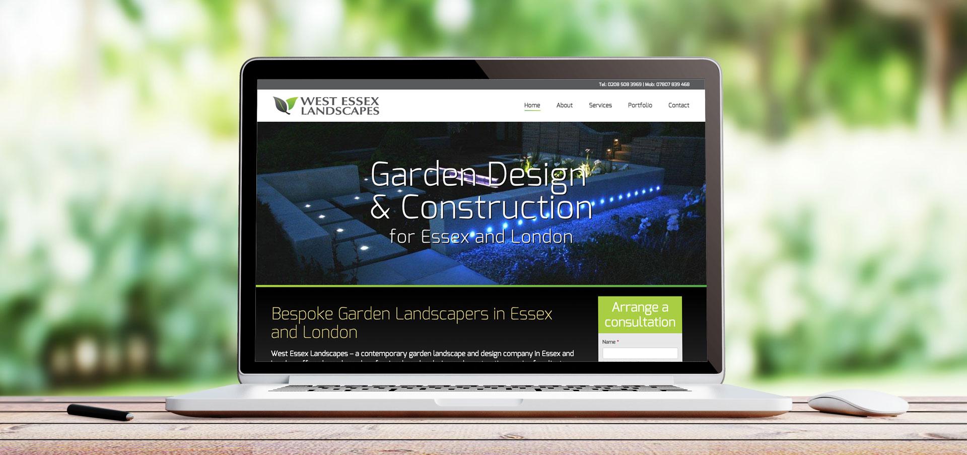 Gardening website example