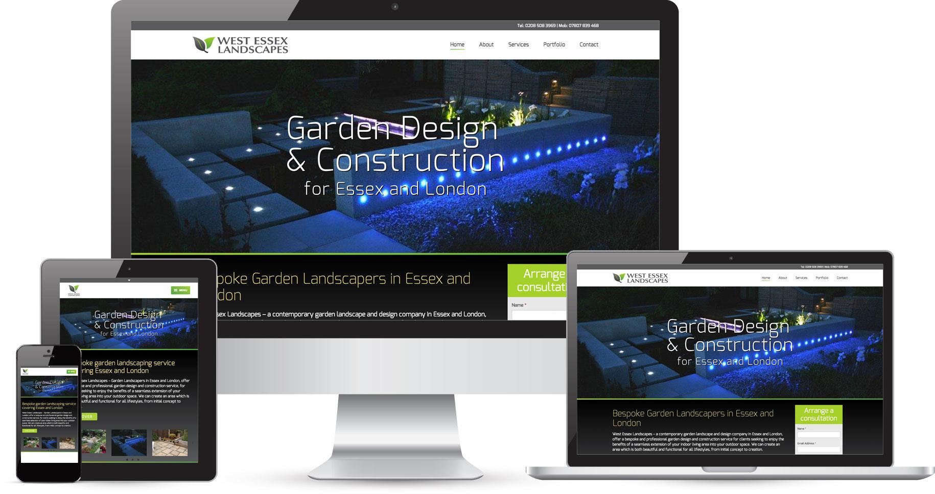 Garden design website