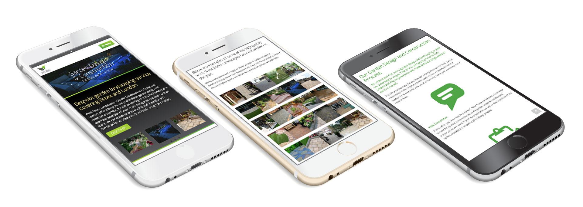Responsive website on iPhone