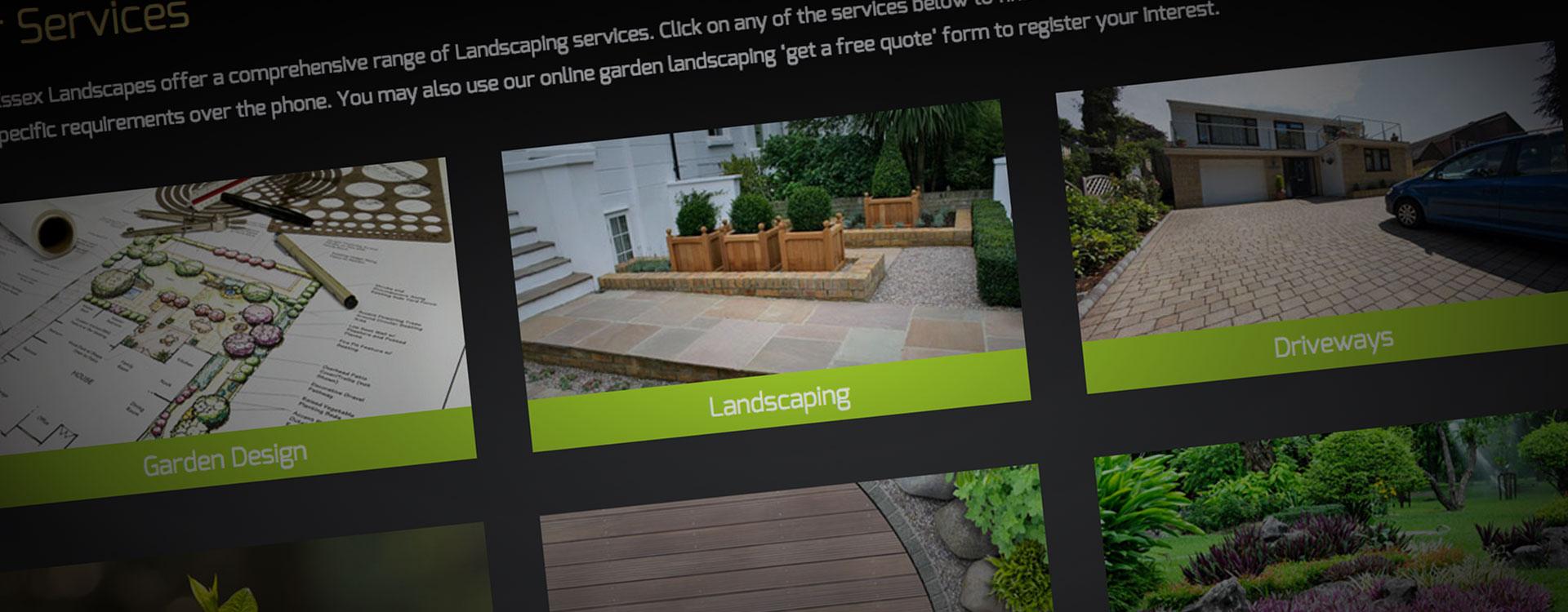 Creative website design Kent