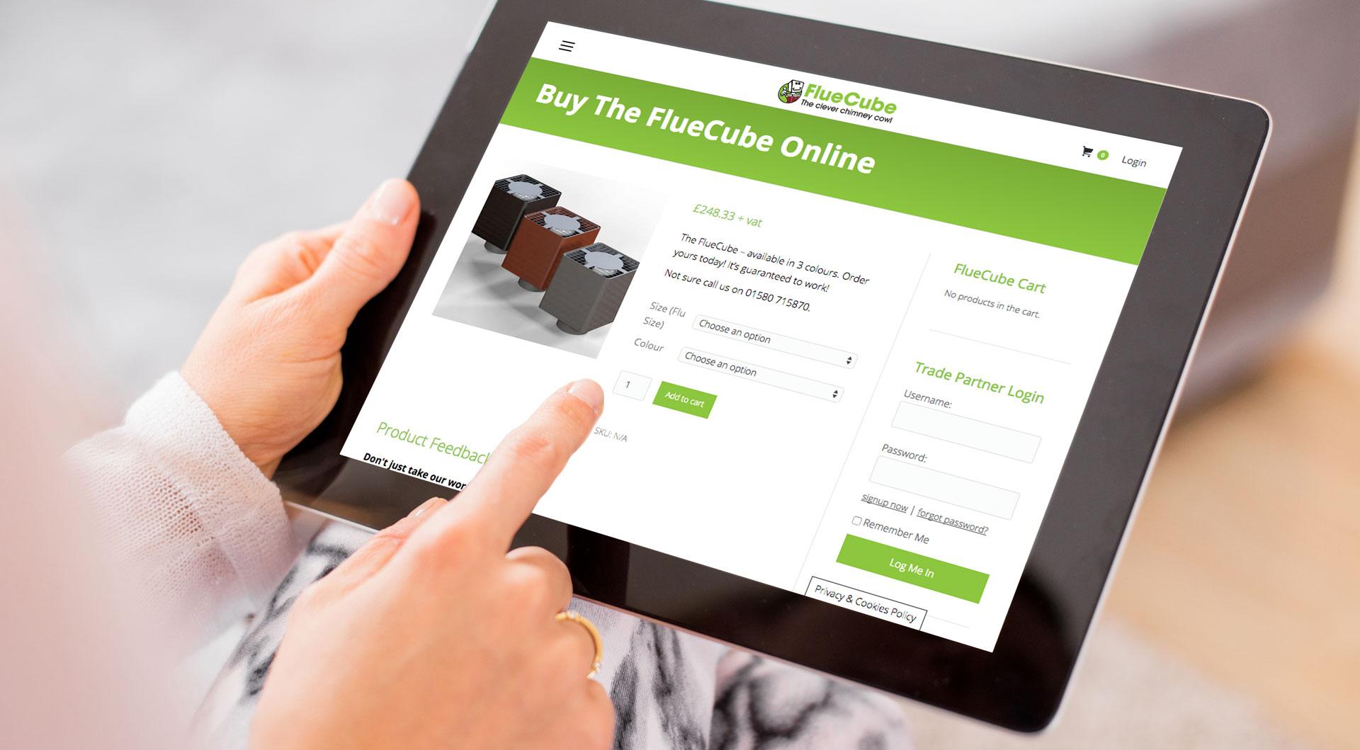 ipad e-commerce website