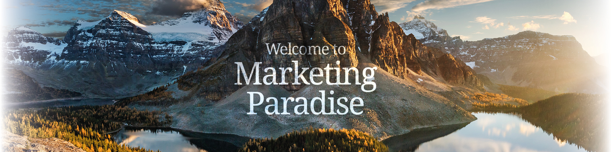 Welcome to Marketing Paradise