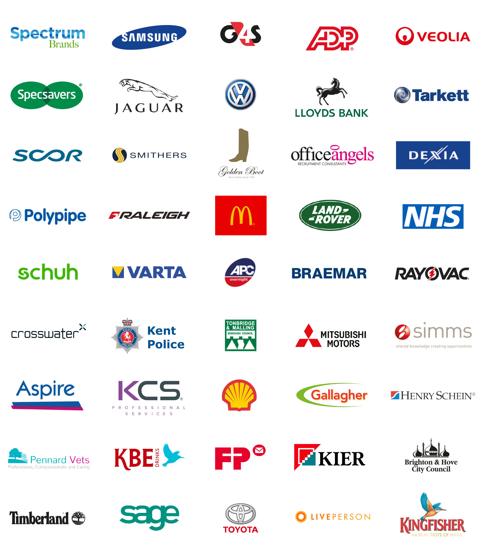 Over 800 happy customers nationwide - Full Creative Agency in Kent