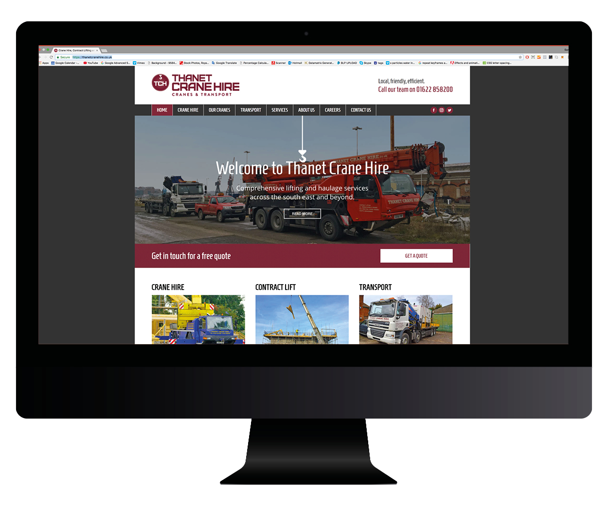 Responsive websites built for our customers